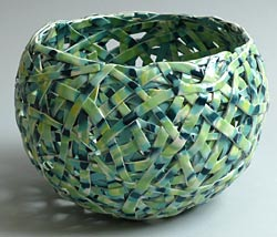 green tangle basket